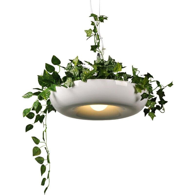 مصباح معلق داخلي ، حماية البيئة ، نبات أخضر ، ثريا إبداعية للحديقة ، نباتات ، أصيص زهور قابل للزراعة