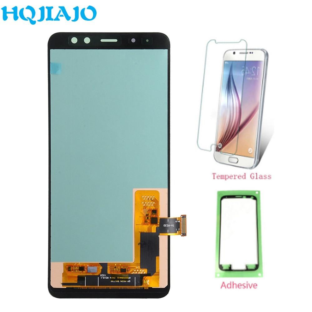 High-end de TFT LCD Para Samsung Galaxy A8 2018 Toque Digitador Da Tela + Display LCD Para Samsung A8 A530 a530 A530F A530F/DS