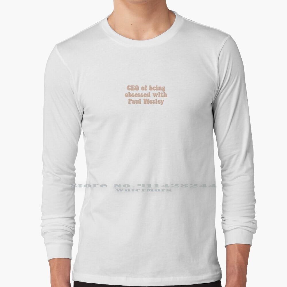 Ceo Of Being Obsessed With Paul Wesley Long Sleeve T Shirt Tee Paul Wesley Ian Somerhalder Nina Dobrev