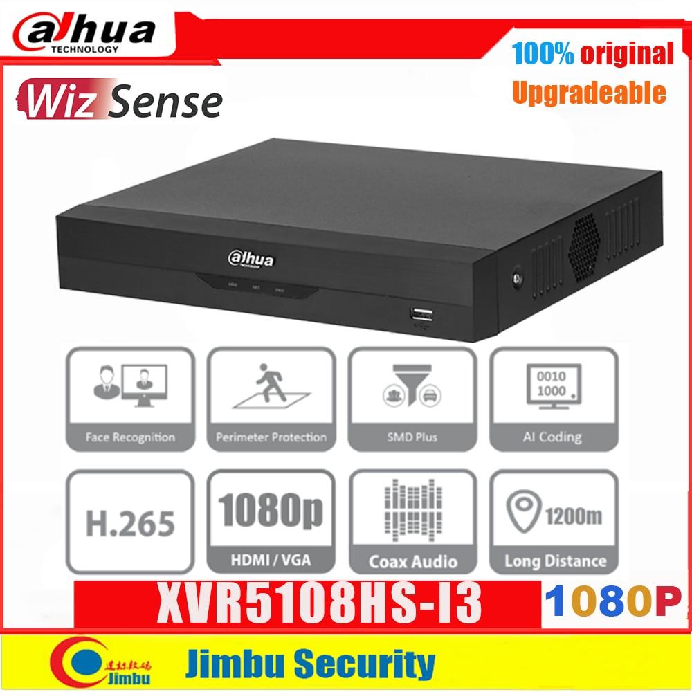 داهوا XVR 1080P XVR5108HS-I3 IoT 8 قناة بنتا brid 5M-N/1080P المدمجة 1U WizSense مسجل فيديو رقمي مصلحة الارصاد الجوية زائد H.265 + NVR