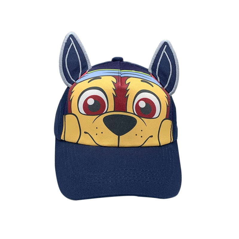 Nuevo niño de algodón de las niñas gorra de Baseball con caricatura Snapack cachorro rescatar niños sombrero de malla sombra Visor Cap