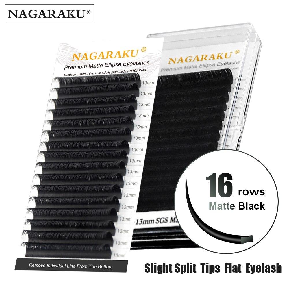 Nagaraku liso elipse cílios maquiagem dividir dicas elipse em forma de luz natural elipse magnética cílios plana elipse forma olho