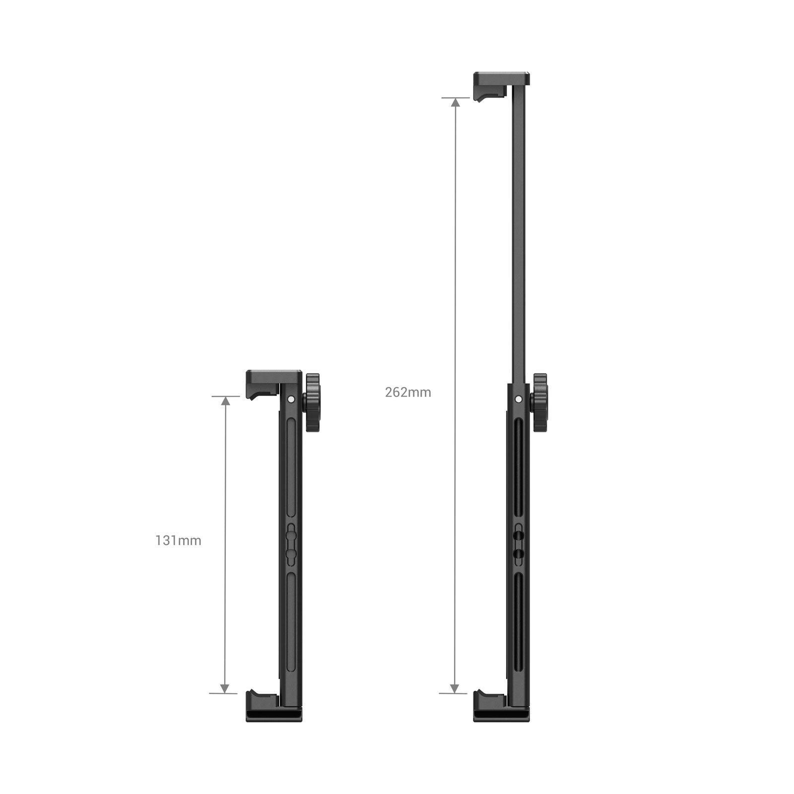 """SmallRig Tablet Metal Holder with Dual Handgrip for iPad Tripod Mount Adapter for iPad Mini Air Pro Surface Pro (7.9"""" to 12.9"""") enlarge"""