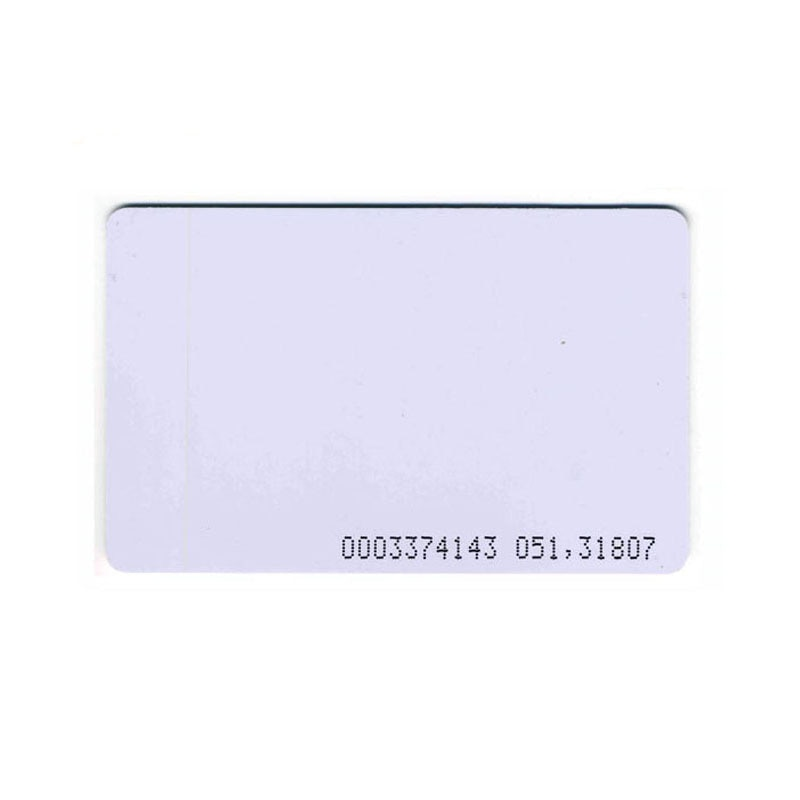 100/pcs 125KHZ TK4100/EM4305 Access Control System ID Cards RFID Smart Cards Changeable Keyfobs Clone Crads