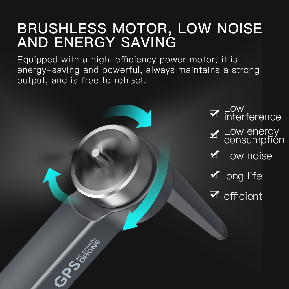 New L800Pro RC Drone GPS 6K HD Dual Camera ESC Brushless Quadcopter Professional Aerial Photography FPV Foldable Helicopter Toy enlarge