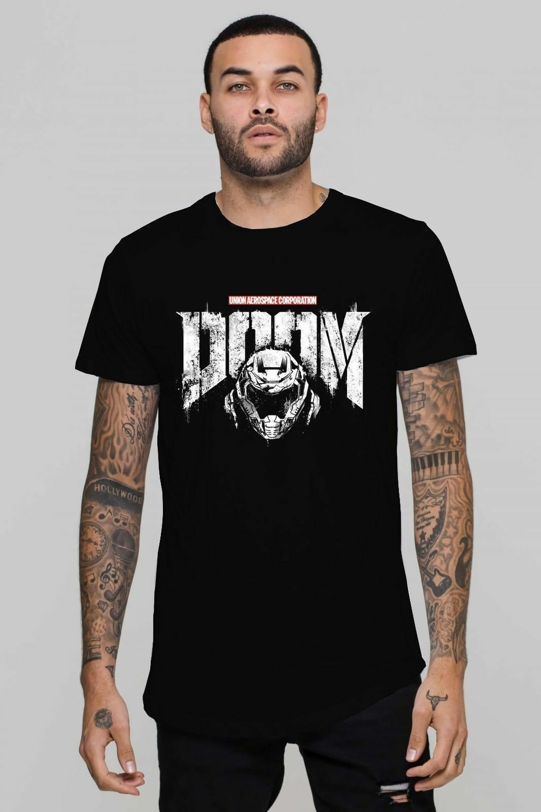 T-Shirt Dom Punisher Doomguy