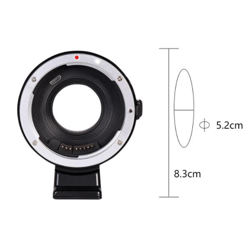 Camera Len Accessories Macro EF-FX1 Auto Lens Mount Adapter for Canon EF/EF-S Mount Lens to for Fujifilm enlarge