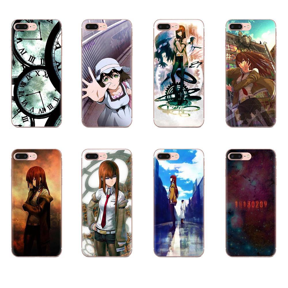 For Samsung A01 A51 A71 A81 A91 A50 S10E S10 S20 Plus Note 10 Lite Pro M60s M30S Soft TPU Art Print Cover Case Steins Gate Anime