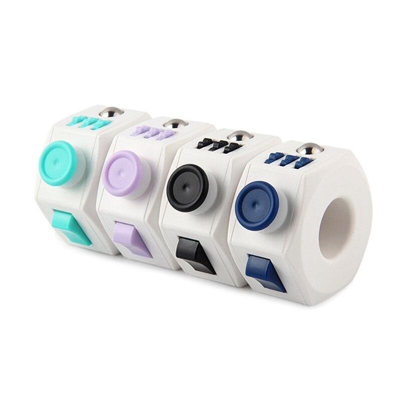 Nuevo juguete de descompresión prensa Magic Anti Stress cubo EDC mano para autismo ADHD alivio de la ansiedad Focus niños Anti-Stress Fidget Toys