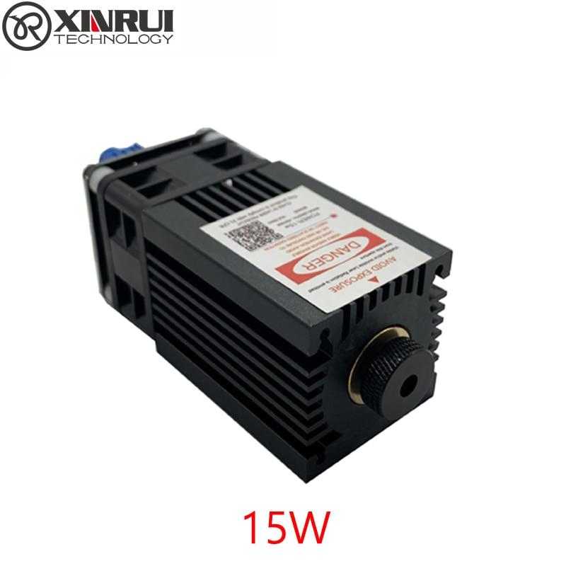 450nm 15000mW 12V Laser Module pwm Adjustable Focus Laser Cutter engraver accessories 15W laser head
