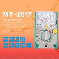 Proskit MT-2017 AC/DC Analog Graph Pointer Multimeter Ammeter Resistance Capacitance Diode Volt Amp Ohm hFE LED Meter