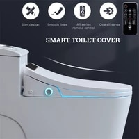 Smart Home Automatic Toilet Seats LCD Electronic Bidet Cover Clean Dry Seat Heating Deodorization Mute WC Intelligent Seat Cover
