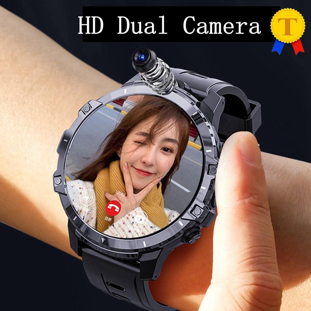 Rastreador para Apple Relógio de Pulso Novo Relógio Inteligente 64gb 128gb Gps Smartver Mt6762 850mah 8mp Câmeras Duplas Freqüência Cardíaca Esportes Telefone 2021 4g