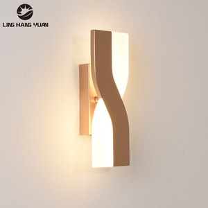 Modern Wall Lamps LED Bedside Lights for Living Room Bedroom Rotatable Wall Lights Sconce Background Aisle Indoor Lighting 6W