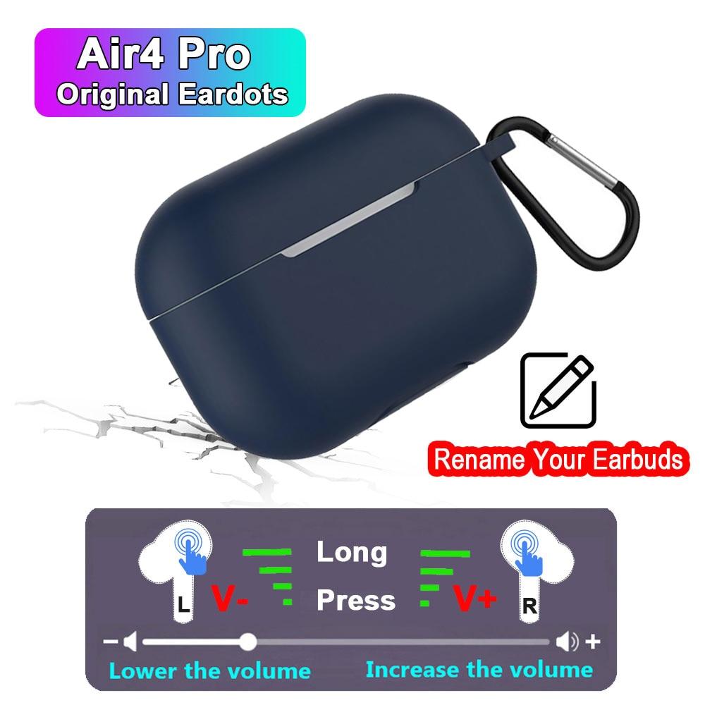 Air4 Pro Tws Wireless Bluetooth Earphones Volume Control GPS Air 3 Pro Super Bass Earbuds PK i9000 i90000 MAX i900000 PRO tws