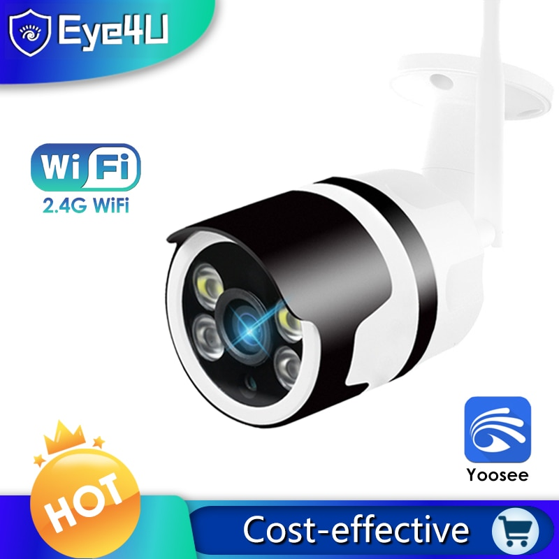 Yoosee 1080P IP الكاميرا في الهواء الطلق كاميرات الأمن مزودة بخاصية WIFI اللون للرؤية الليلية المعادن كاميرا مراقبة بالدوائر التليفزيونية المغلقة ا...