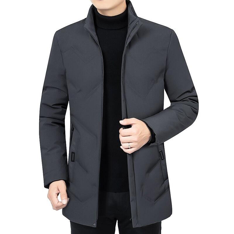 Новинка 2021, зимняя мужская куртка, утепленные теплые мужские парки, пальто с капюшоном, мужские флисовые куртки, верхняя одежда, ветрозащитн...