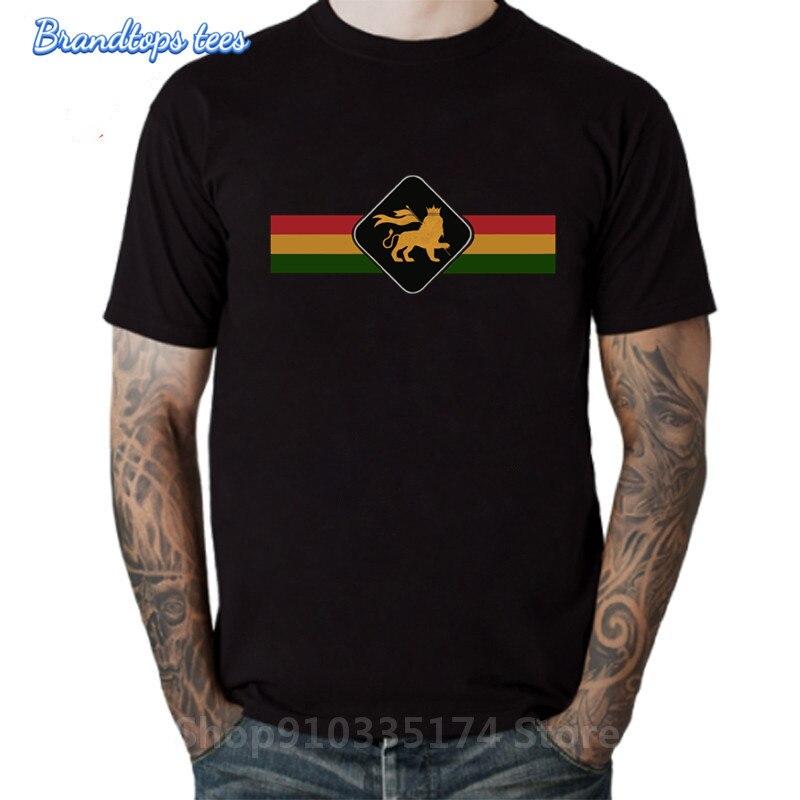 2020 Vintage León Rasta sesión Camiseta Retro Rastafari León Camiseta homme Jamaica Judah León rey Camiseta hombre