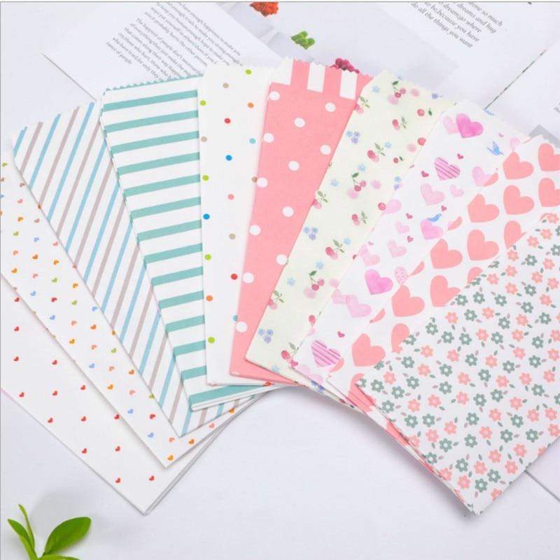 150Pcs Romantic cartoon pattern envelope Lovely Colorful Letters Envelopes free shipping