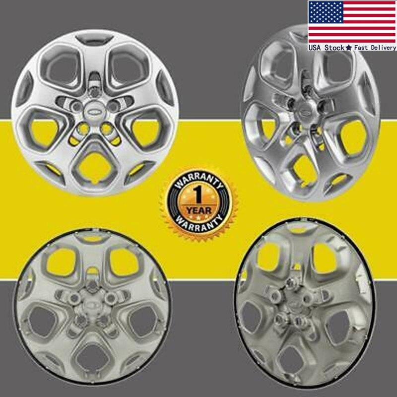"""4 para 2010 de 2011 de 2012 Ford Fusion 17 """"cubiertas de rueda de llanta, cubo tapas 5 habló completa centros"""
