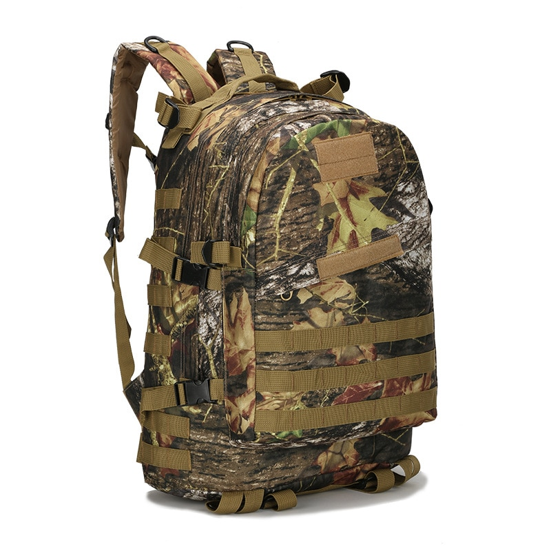 Outdoor Tactical Backpack Army Military Molle Assault Rucksack Men Hunting Waterproof Trekking Camping Hiking Camouflage Bag