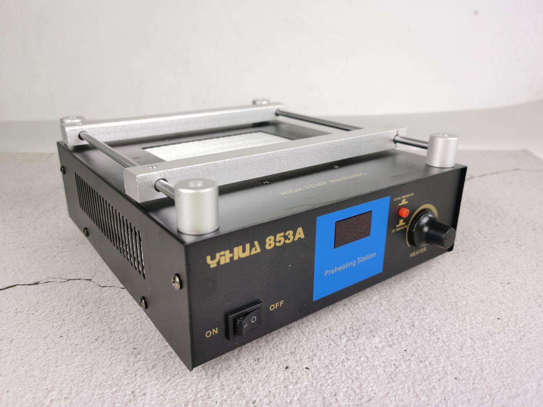 YIHUA 853A 220V 50HZ Digital Preheat Soldering Station High Power ESD BGA Rework Station PCB Desoldering IR Preheating enlarge