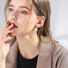 Exquisite fan shell ohrringe antiallergic s925 nadel ohr stud ring mode schmuck eardrop ohrring mode zubehör ohr clip