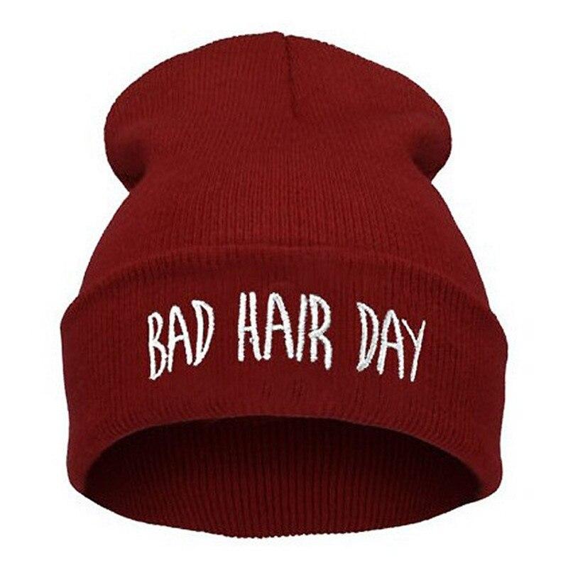 Модные шапки-бини Skullies, женские шапки на каждый день, зимние повседневные мужские шапки унисекс для мальчиков, осенняя вязаная шапка с вышив...
