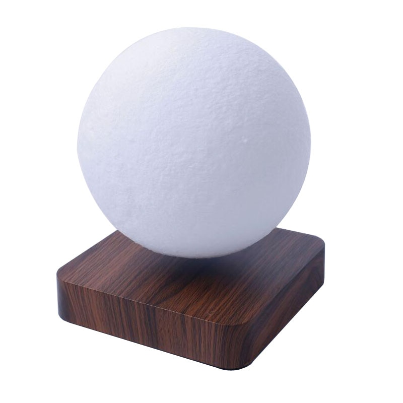 New LED Night Lamp Levitating Creative 3D Touch Magnetic Levitation Moon Lamp Night Light Rotating L