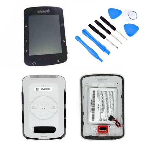 Garmin-طقم عداد سرعة الدراجة Edge 520 GPS ، لوحة زجاجية ، غطاء خلفي مع بطارية ليثيوم أيون ، مجموعات إصلاح