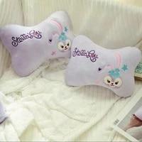 disney cartoon star dailu bunny outdoor portable pillow cervical pillow camping outdoor pillow