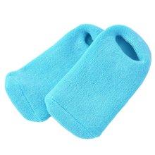2 pièces/lot coton et Gel de silicone hydrater adoucir réparation fissuré peau Gel chaussette peau pied soin outil traitement Spa chaussette