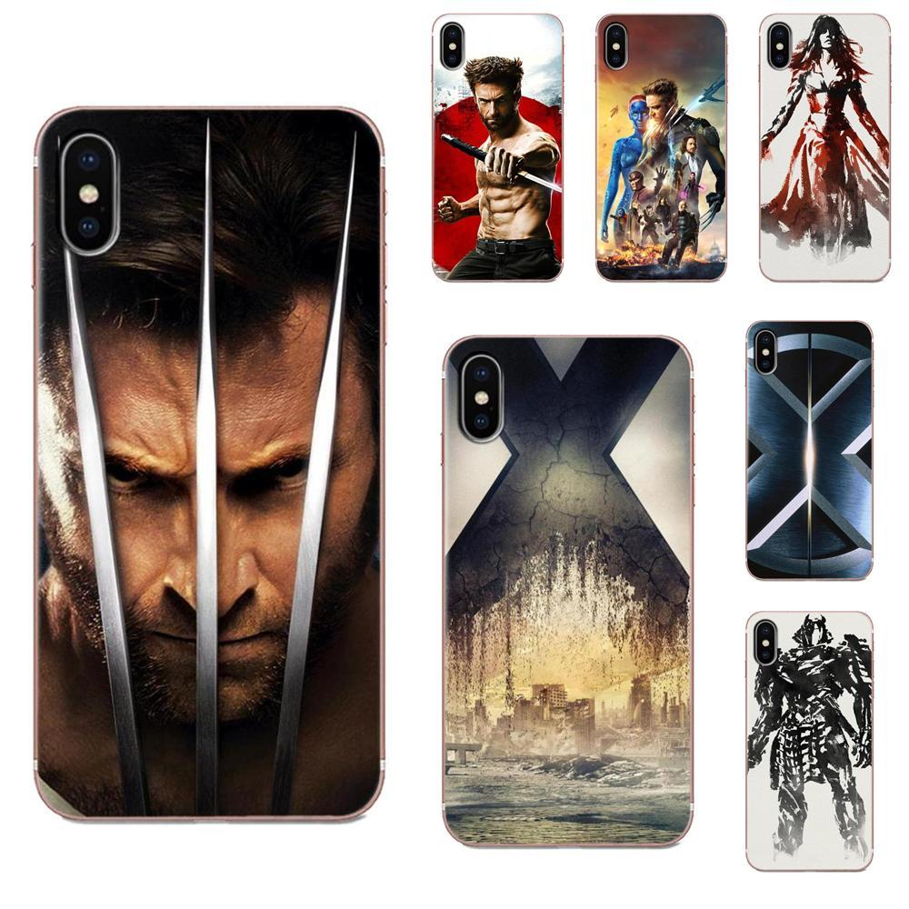 Genial, X-men Wolverine Logan arte de TPU imprimir para Huawei Honor Mate 7 7A 8 9 10 20 V8 V9 V10 V30 P40 G Lite jugar Mini Pro P inteligente