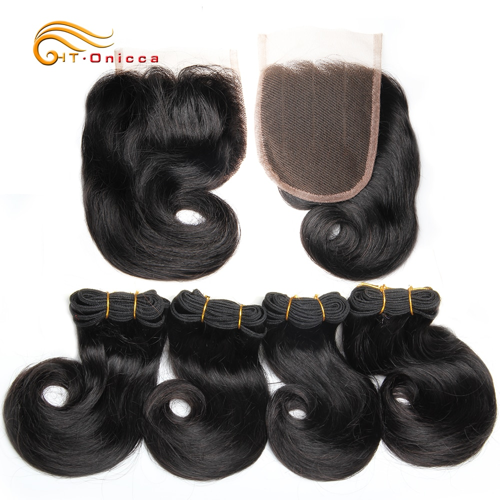 Funmi-وصلات شعر مجعد ، شعر بشري 100% ، 8 بوصات ، وصلات شعر ريمي برازيلية ، 1B 27 30 بورجوندي ، رسم مزدوج