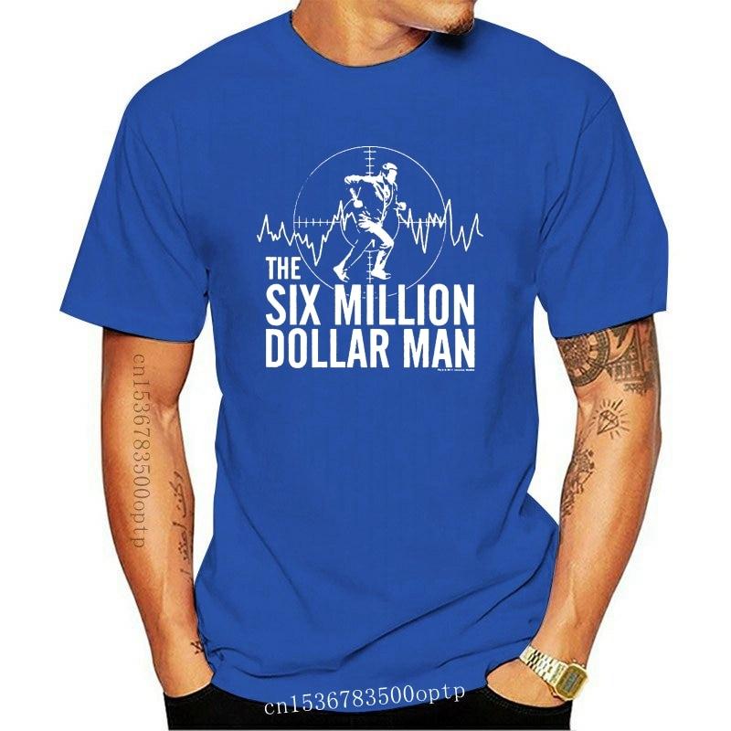 New Men t shirt The Six Million Dollar Man Sci-Fi TV Series Target Adult Heather Tee t-shirt novelty tshirt women