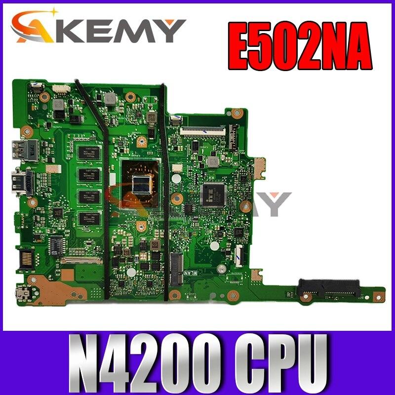 Akemy-placa base E502NA para ordenador portátil, placa base original para ASUS VivoBook...