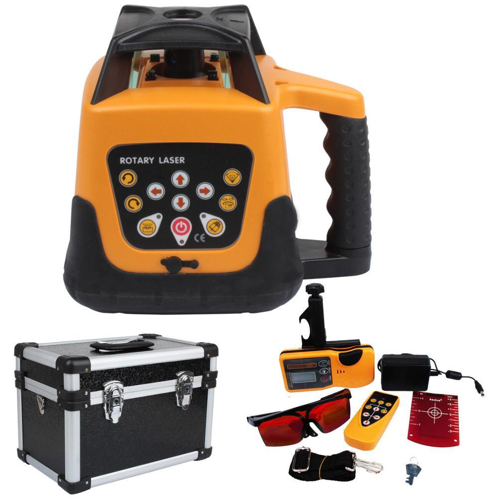 Updated Automatic Self-leveling Rotary Red Laser Level