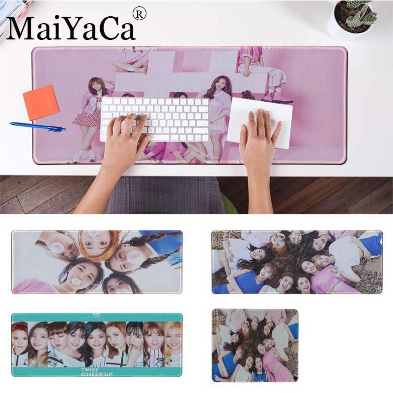 MaiYaCa New Design Twice Mina Momo Kpop Gaming Mouse Pad Large Mouse Pad Gamer Big Mouse Mat Computer Rubber Mousepad