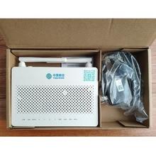Бесплатная доставка 40 шт/коробка 100% origina HS8545M5 GPON ONU ONT 1GE + 3FE + 1TEL + Usb + Wifi