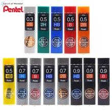 1PCS JAPAN PENTEL C275 Automatische Bleistift Blei Ain STEIN 0,3   0,5   0,7   0,9mm Schwarz Harz bleistift Blei