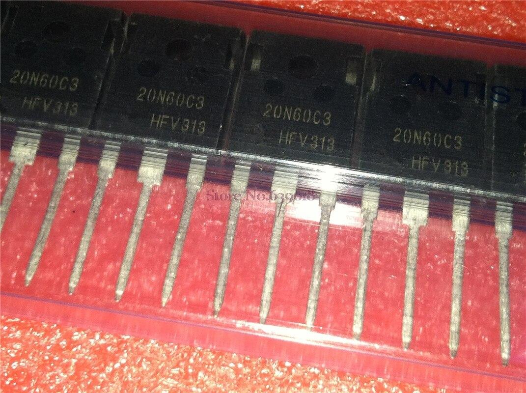 10 unids/lote SPW20N60C3 SPW20N60 TO-3P en Stock