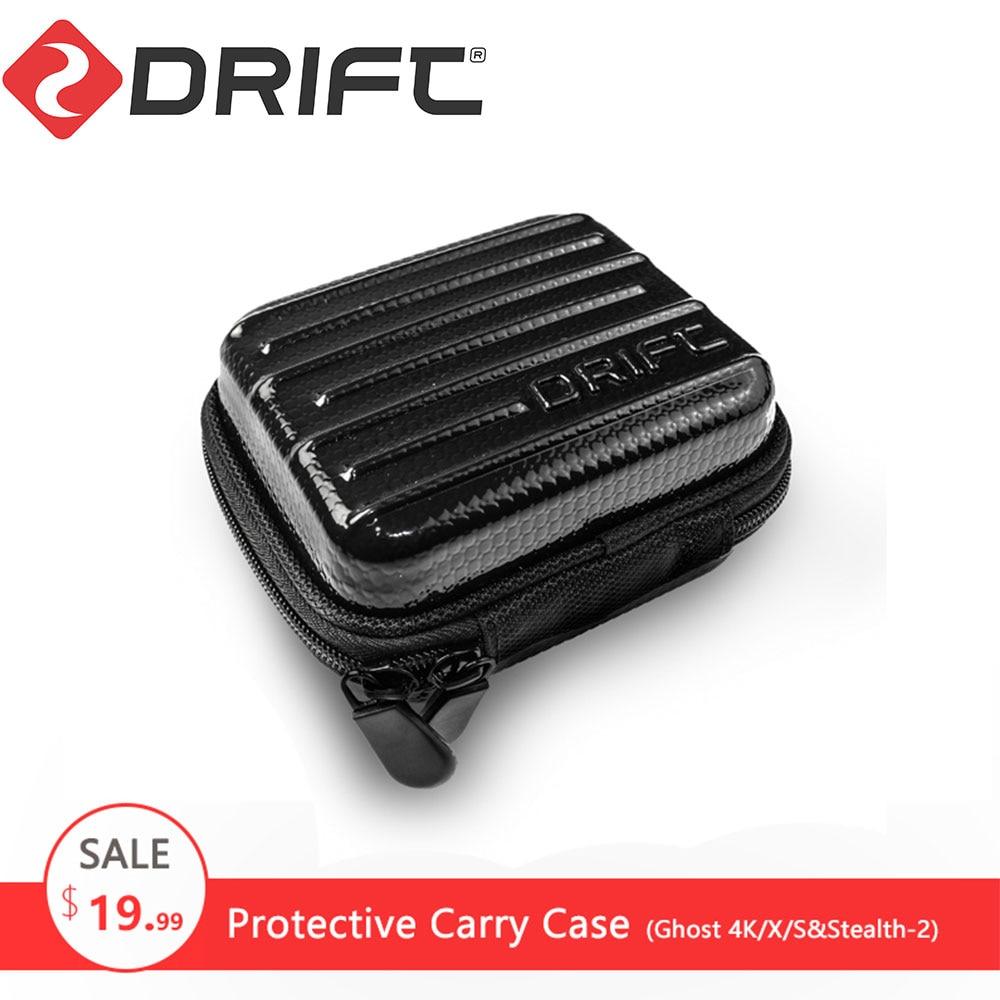 DRIFT acción accesorios para Cámaras Deportivas almacenamiento protector bolsa de viaje funda de transporte para Ghost-4K/S Stealth gopro yi xiaomi cam
