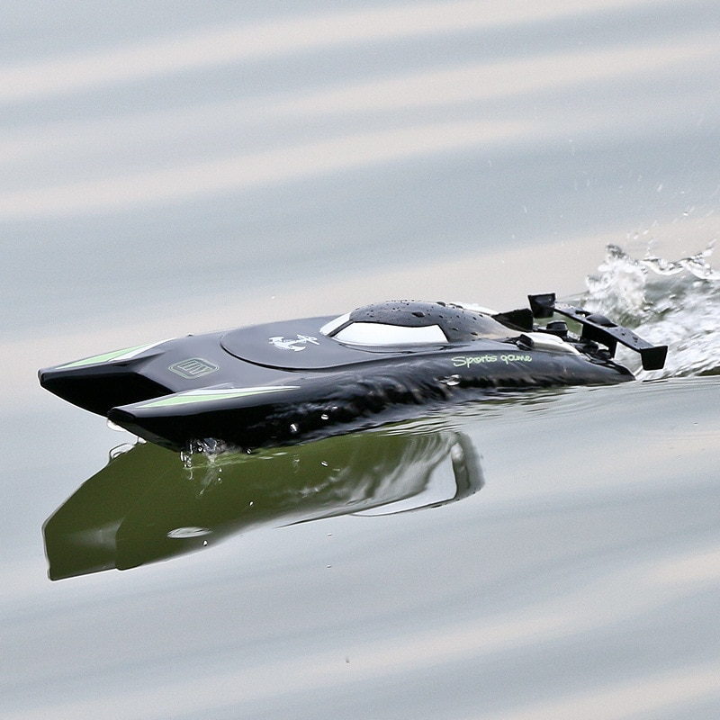 2021 New 2.4G RC Boats 25KM/H High Speed Racing Boat 2 Channels Dual Motor Remote Control Boats for