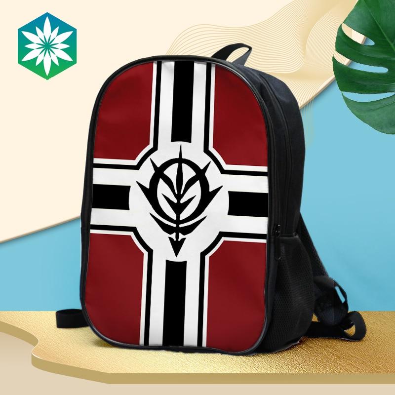 Anime/traje móvil Gundam doble mochila impermeable/bolso de hombro/mochila escolar