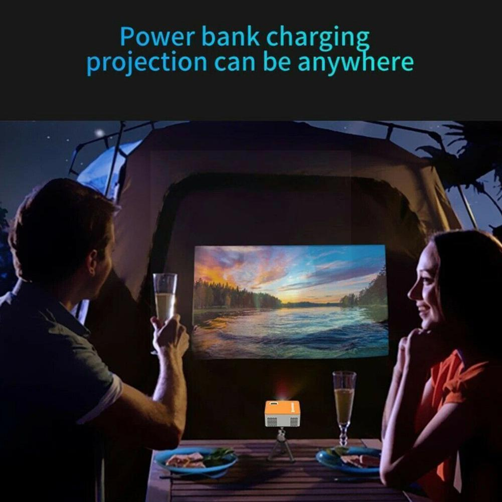 Portable Mini Mobile Phone Projector WiFi For Android Video Beamer Proyector Phone Cinema For Kids F