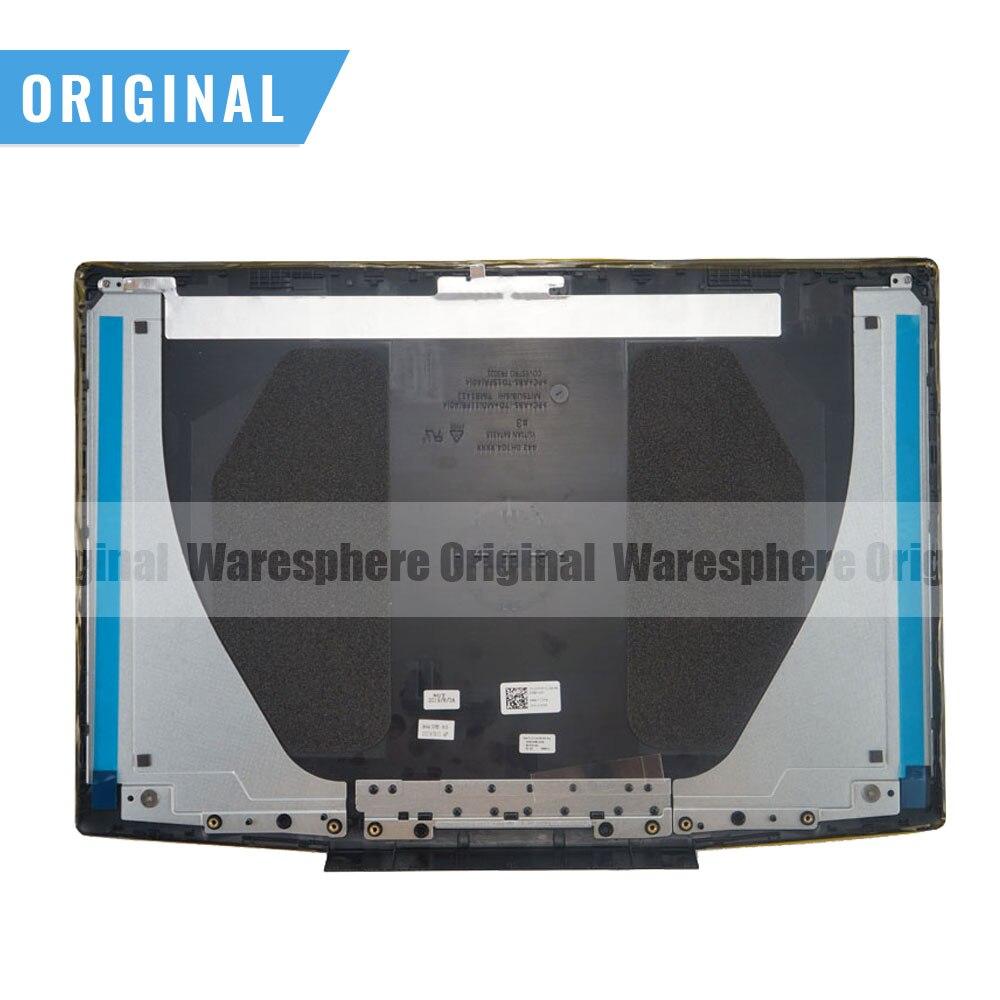 جديد لـ Dell G Series G3 15 3590 LCD غطاء خلفي مفصلات 0747KP 03HKFN شعار أزرق/أحمر 747KP 3HKFN 0YGCNV