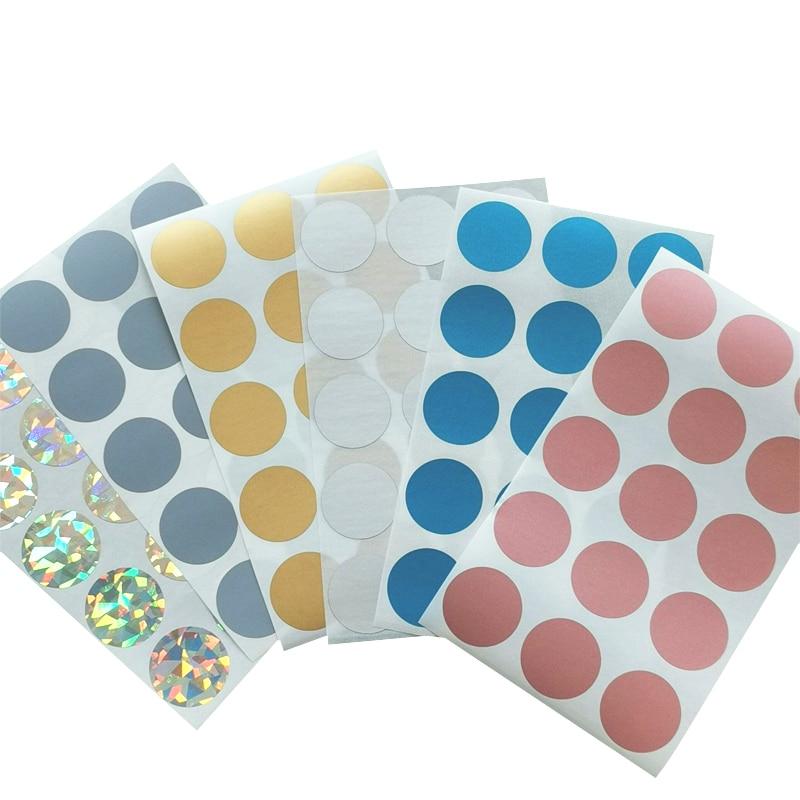 100-unids-lote-redondo-dorado-plateado-azul-rayado-cute-stickers-diy-multifuncion-regalos-scraping-sticker