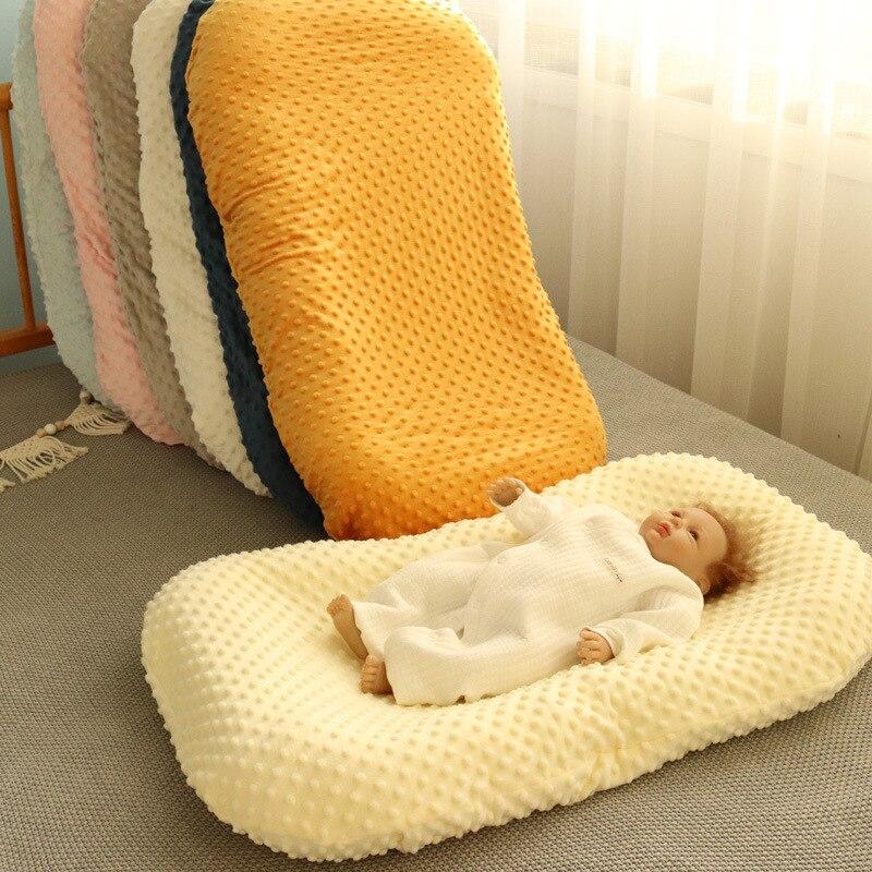 Детское гнездо для новорожденных, кокон, манеж, портативная детская кроватка, детские кроватки, редуктор, реквизит для фотосъемки для девоч...