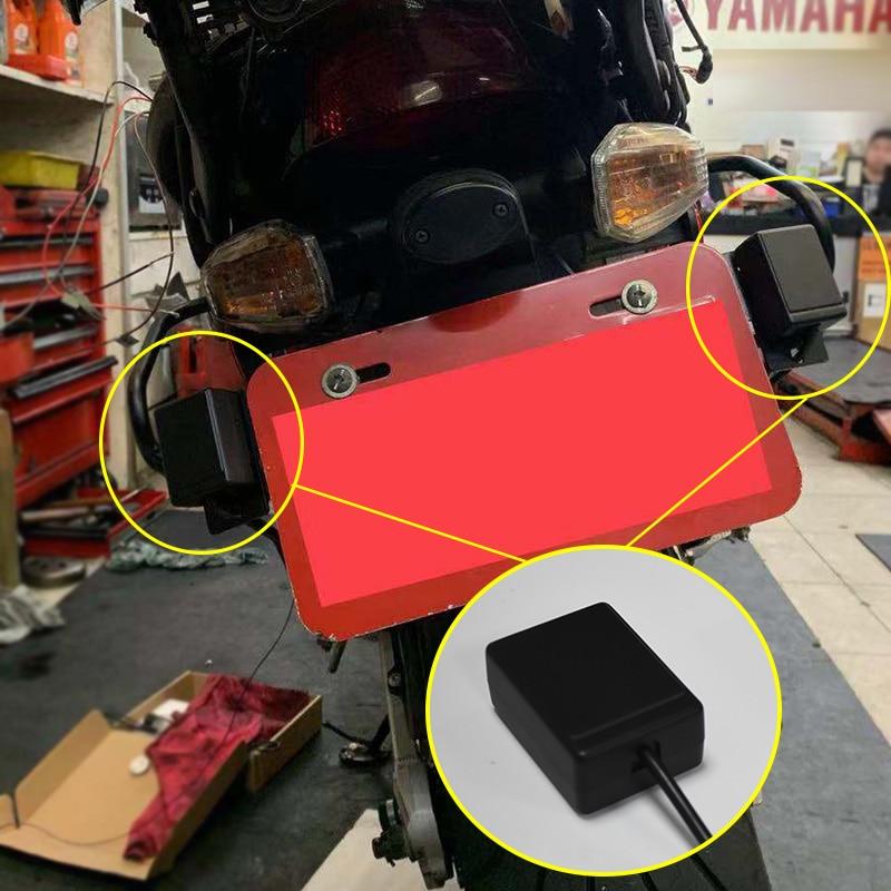 BSA BSD Blind Spot Monitoring Detection Alarme Moto Microwave Radar BSD Motorcycle Alarm Lane Change Assist Bike Radar Bici 24gh