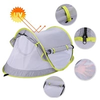 pop up baby beach tent upf 50 sun shelter tents for infants with pool kid outdoor camping sunshade beach